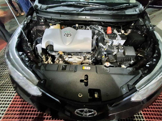 yaris engine